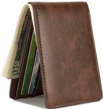 Hissimo Men's Slim Front Pocket Wallet