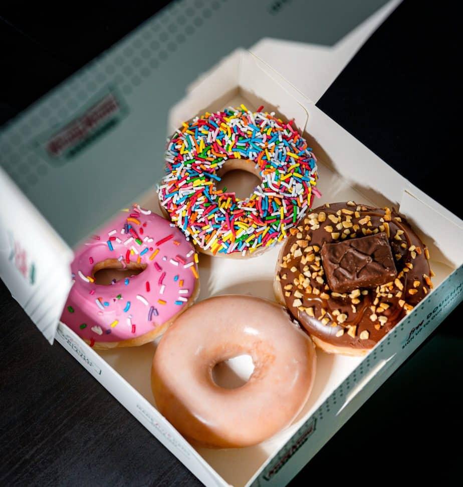 Are Krispy Kreme Donuts Vegan