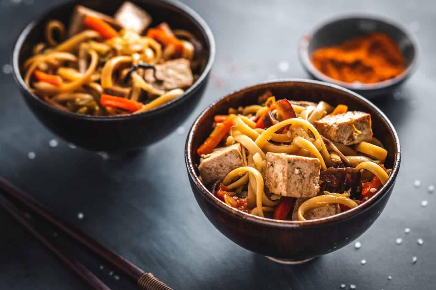are udon noodles vegan?