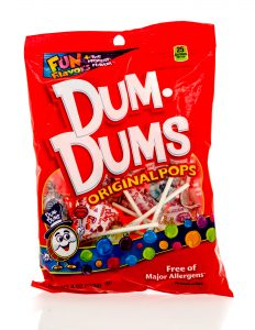 bag of Dum Dums