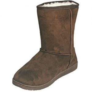 DAWGS Women's Microfiber Vegan Winter Boots