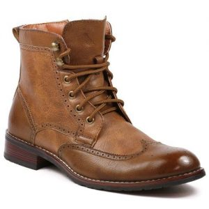 Polar Fox Jonah MPX808567 Men's High-Top Western Derby Dress Boots