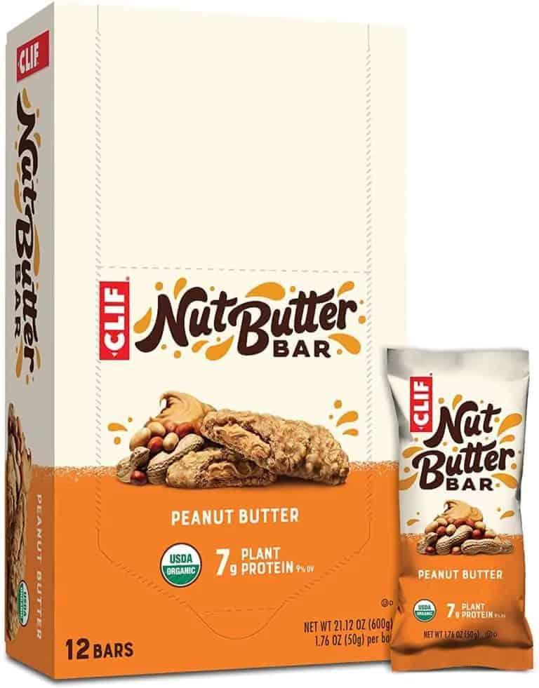 Nut Butter Clif Bars