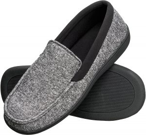 Hanes Men's House Moccasin Slippers
