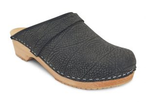 MB Faux Leather Clogs