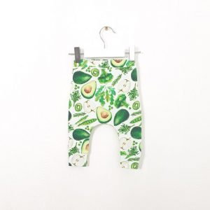 Green Mix Baby Leggings