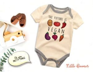The Future Is Vegan Onesie