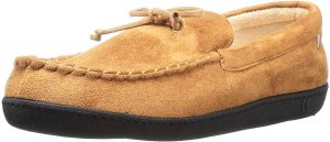 isotoner Men's Whipstitch Gel-Infused Moccasins