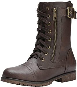 Dream Pairs Women's Winter Combat Boots