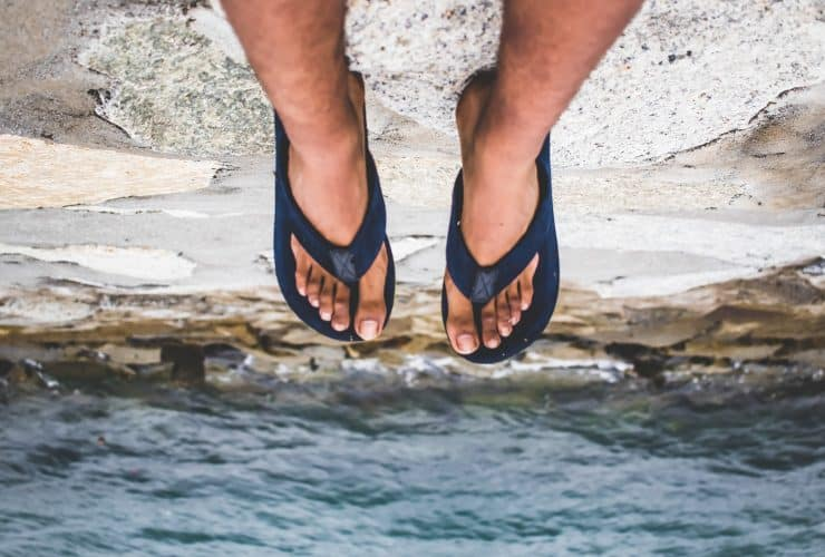 best eco-friendly vegan flip flops
