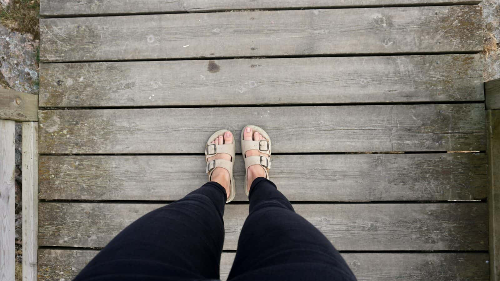 vegan Birkenstock footwear