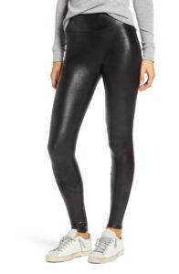 SPANX Faux-leather legging