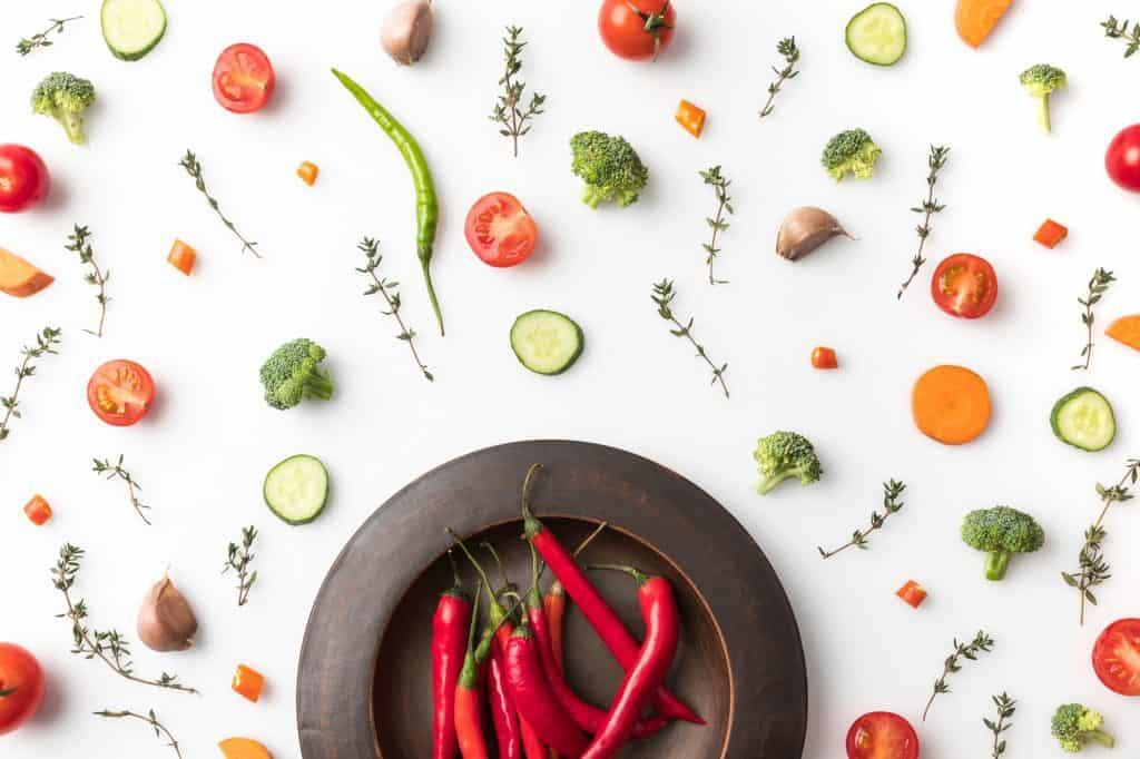 celebrate with veggies