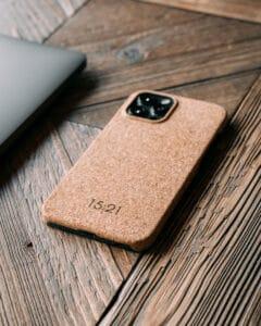 iPhone cork case