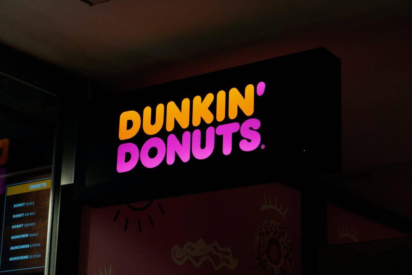 vegan options at Dunkin Donuts