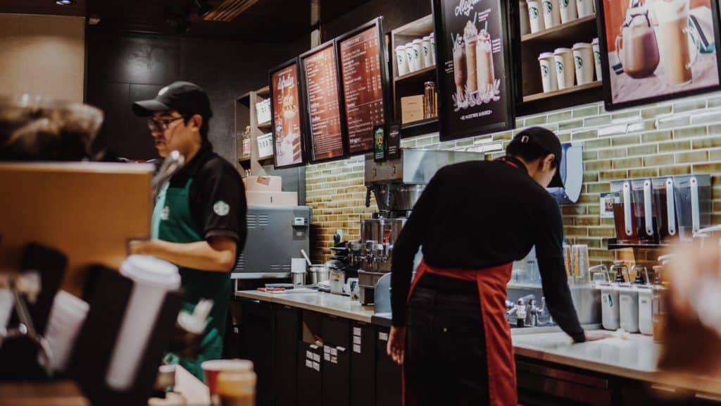 vegan food at Starbucks